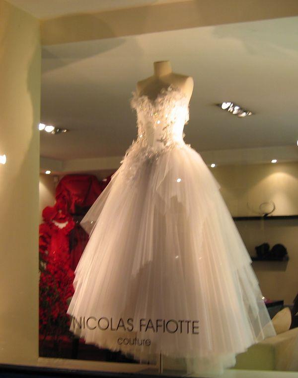 Nicolas Fafiotte Couture createur de robe Lyon